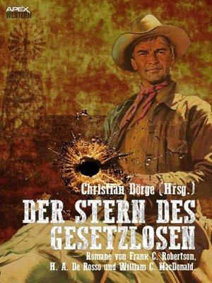 cover image of DER STERN DES GESETZLOSEN