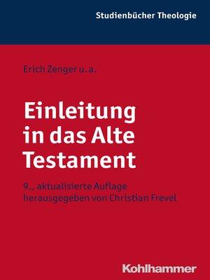 cover image of Einleitung in das Alte Testament