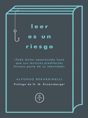 cover image of Leer es un riesgo