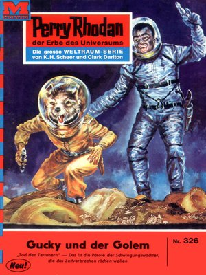 cover image of Perry Rhodan 326