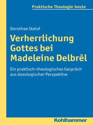 cover image of Verherrlichung Gottes