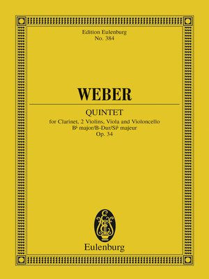 cover image of Quintet Bb major