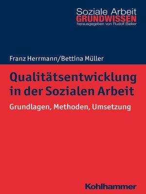 cover image of Qualitätsentwicklung in der Sozialen Arbeit