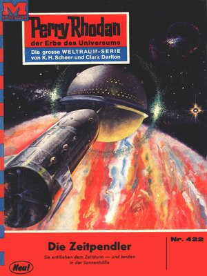 cover image of Perry Rhodan 422
