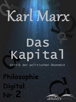 cover image of Das Kapital