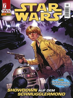 cover image of Star Wars Comicmagazin, Band 7--Showdown auf dem Schmugglermond
