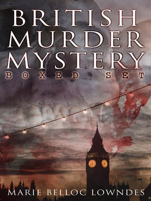 cover image of BRITISH MURDER MYSTERY Boxed Set