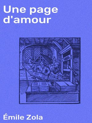 cover image of Une page d'amour