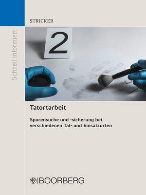 cover image of Tatortarbeit