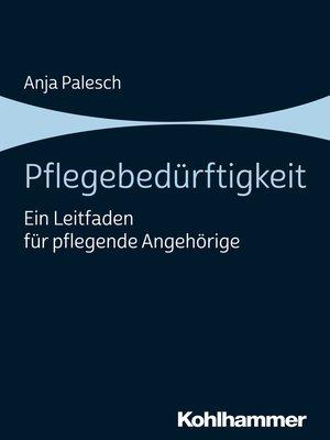 cover image of Pflegebedürftigkeit