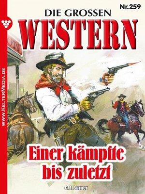 cover image of Die großen Western 259