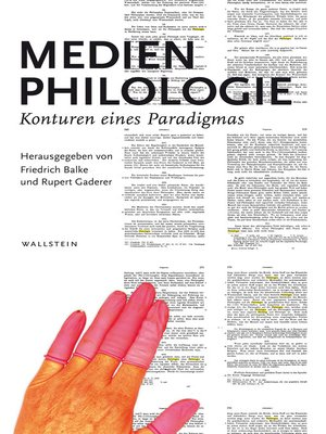 cover image of Medienphilologie