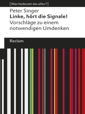 cover image of Linke, hört die Signale!