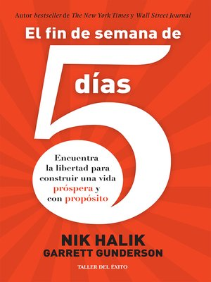 cover image of El fin de semana de 5 días
