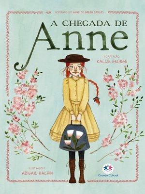 cover image of A chegada de Anne