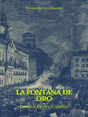 cover image of La fontana de oro (Prometheus Classics)