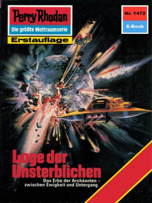 cover image of Perry Rhodan 1472