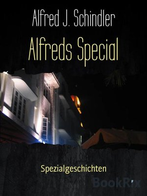 cover image of Alfreds Special