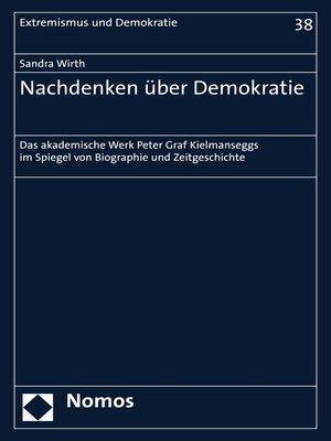 cover image of Nachdenken über Demokratie