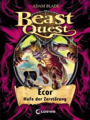 cover image of Beast Quest 20--Ecor, Hufe der Zerstörung