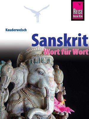 cover image of Sanskrit--Wort für Wort