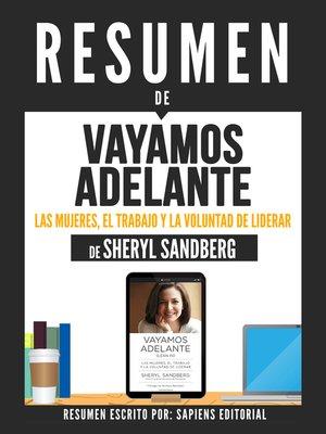 """cover image of Resumen De """"Vayamos Adelante"""