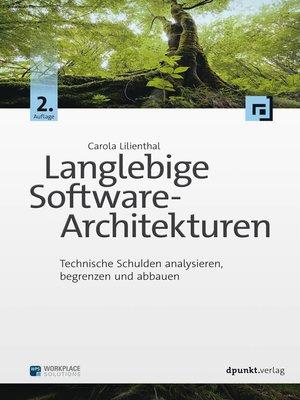 cover image of Langlebige Software-Architekturen