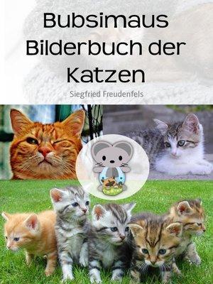 cover image of Bubsimaus Bilderbuch der Katzen