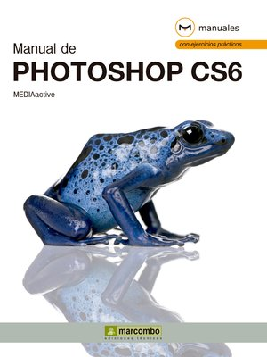 cover image of Manual de Photoshop CS6