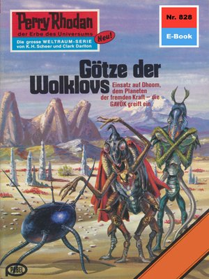 cover image of Perry Rhodan 828