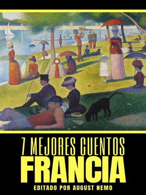 cover image of 7 mejores cuentos--Francia