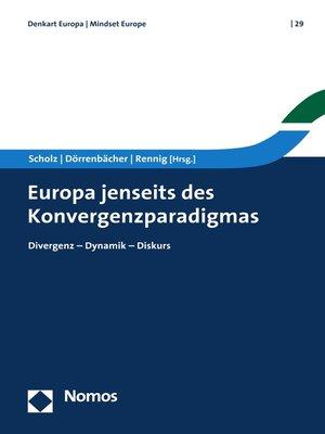 cover image of Europa jenseits des Konvergenzparadigmas