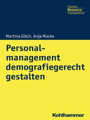 cover image of Personalmanagement demografiegerecht gestalten
