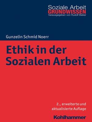 cover image of Ethik in der Sozialen Arbeit