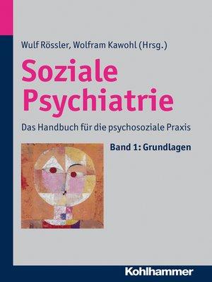 cover image of Soziale Psychiatrie