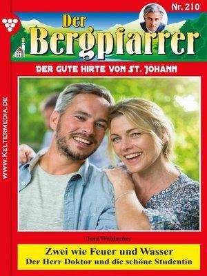 cover image of Der Bergpfarrer 210 – Heimatroman