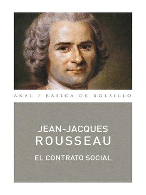 cover image of El contrato social