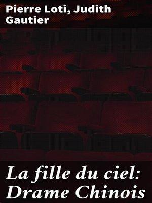 cover image of La fille du ciel