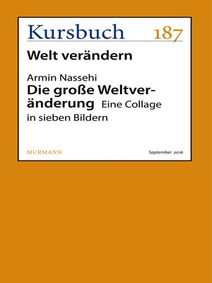 cover image of Die große Weltveränderung