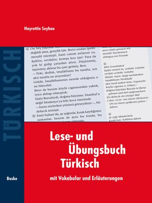 cover image of Lese- und Übungsbuch Türkisch