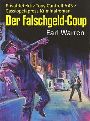 cover image of Der Falschgeld-Coup