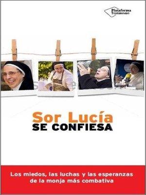 cover image of Sor Lucía se confiesa