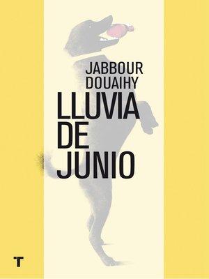 cover image of Lluvia de junio