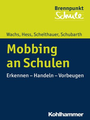 cover image of Mobbing an Schulen