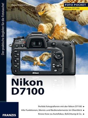 cover image of Foto Pocket Nikon D7100