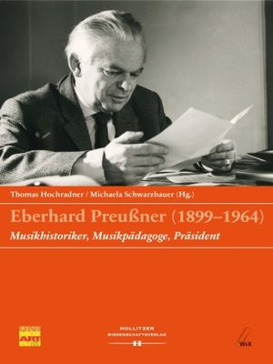 cover image of Eberhard Preußner (1899-1964)
