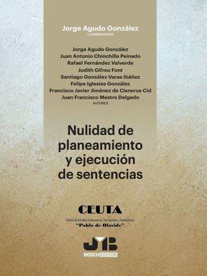cover image of Nulidad de planeamiento y ejecución de sentencias