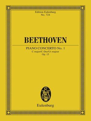 cover image of Piano Concerto No. 1 C major