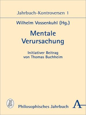 cover image of Mentale Verursachung