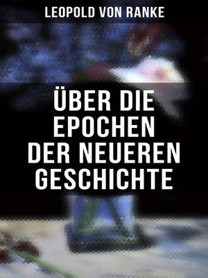 cover image of Über die Epochen der neueren Geschichte